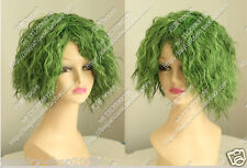New wig Cosplay clown Joker Green curly COS wig