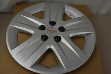 2010-2011 Chevrolet Impala with Steel Wheel Silver Hub Cap Cover new OEM 9596580