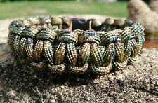 Multi Terrain Pattern (MTP) Help For Heroes Inspired Handmade Paracord Bracelet