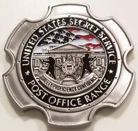 United States Secret Service Post Office Range USSS Challenge Coin