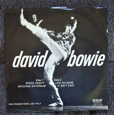 """David Bowie""""Space Oddity"""" 45RPM EP Promo Record  W/PS"""