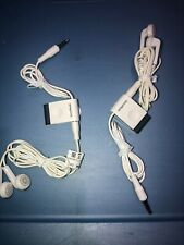Lot Of 2pc Oem Nokia 3.5mm Stereo Headset Buds HS-45 AD-57 for 6110 5700 N78 N81