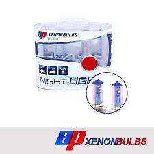 H1 Super Blanco +90% Xenon Headlight Bulbs Fits Honda Prelude MK5 2.2 16V
