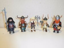 Playmobil Dragons dreamworks figures from 9243 3247 9245 9248 Berk grosero
