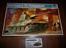 WWII GERMAN TANK CARRO ARMATO e-75 contraerea carri armati 1:35 Trumpeter 01539 NUOVO