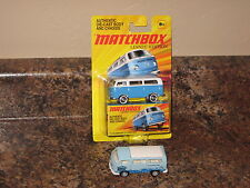 Matchbox Lot of 2 1970 Volkswagen T2 Classic Bus Variation Lesney Samba 70 VW