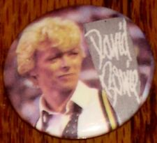 David Bowie Button ! New! Rock & Roll!