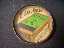 vintage dexterity puzzle game hand held  /Jeu d'adresse ancien billard