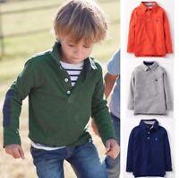 Mini Boden Long-sleeved Pique Polo Shirt 1 2 3 4 5 6 7 8 9 10 11 12Yrs