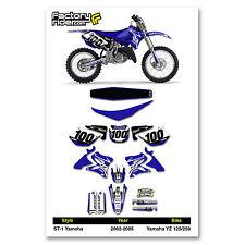2002-2005 YAMAHA YZ 125 250 Graphics Kit  Seat Cover Motocross Graphics Enjoy