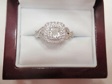 Neil Lane 1 Ct Cushion Diamond Engagement Ring Kay Warranty 14KW Sz 6.5  3799.99
