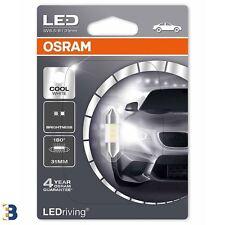 OSRAM LEDriving C5W 269 12V 31mm Cool Bianco 6000K LED Interni 6431CW-01B x1