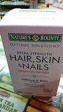 Nature's Bounty Hair, Skin and Nails,250 pcs 2018 exp