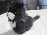 American Girl Doll Pet Cat Licorice Black & White stuffed animal  Retired