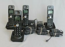 Panasonic - Kx-Tg1034B-P 1 Line,  cordless 4 phone sys with messaging
