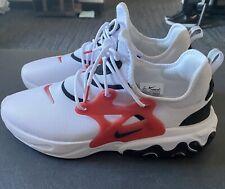 Nike React Presto White/Black/University Red Sz 11