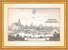 Teschen Cieszyn Castello spitalnick Chiesa Slesia Polonia RAME chiave Merian 0780