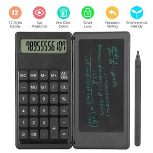 Electronic Digital LCD Writing Tablet Drawing Board Graphics Kid Gift Calculator
