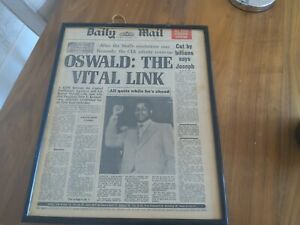 VINTAGE NEWSPAPER - MUHAMMAD ALI QUITS BOXING- DAILY MAIL 1976