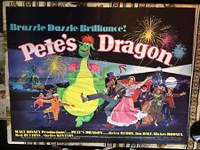 1970s quad poster Pete's dragon ( casting Helen Reddy, Jim Dale, Mickey Rooney )