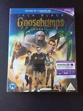 Goosebumps - Blu-ray 3D + Blu-ray (2015 Region Free) New & Sealed W/ Slipcase
