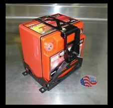 ODYSSEY PC925 BATTERY BOX SINGLE - LASER MILD STEEL POWDERCOAT BLACK
