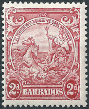 Nice Barbados £ 7.00. D3 Cat Mounted Mint Sg