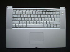 "Powerbook G4 15"" 1.5 or 1.67 GHz  A1106 Keyboard TrackPad 620-3223-A 620-3030-A"
