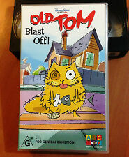OLD TOM - BLAST OFF - YORAM GROSS ABC For Kids - VHS