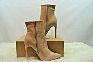 Public Desire Revive Ankle Boot **RRP:£46.99** Nude UK 4