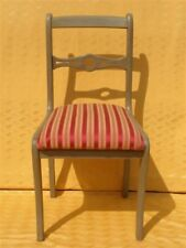 CHAISE style DIRECTOIRE patine grise ★BROCANTIC★ ANTIQUITÉS/BROCANTE/OCCASION