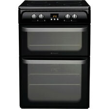 Hotpoint Ultima HUI614K 60cm Electric Cooker with Induction Hob - Black