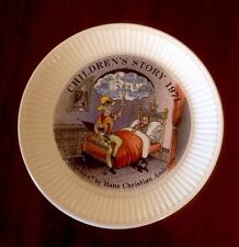 Wedgwood Children's Story 1971 Plate The Sandman Hans Christian Anderson C-11