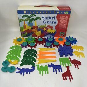 Vintage DISCOVERY TOYS Safari Gears Construction Set