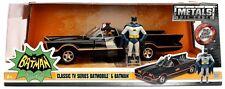 JADA 98259 - 1/24 BATMAN 1966 CLASSIC TV SERIES BATMOBILE WITH BATMAN FIGURE