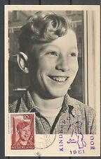 KINDERZEGELS 1951 1e DAG MAXIMUMKAARTEN A'DAM 12.XI.1951 KINDERPOSTKANTOOR  CQ83