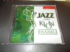 JAZZ ON KLON FM 88.1 CD VOLUME II BRAND NEW SEALED