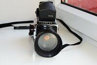 Kiev-88 USSR MEDIUM Format 6x6 HASSELBLAD COPY FILM camera w/s MIR-38B EXC