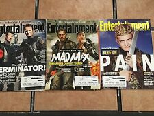 Qty 3 Entertainment Weekly Magazines March 28th-July 4th & November 7 - all 2014