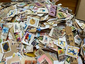 KILOWARE - ASEAN stamps Assortment  about 500 pieces on paper , Post FREE