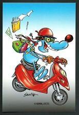 Silver : Lupo Alberto - cartolina realizzata per i 40 anni del personaggio