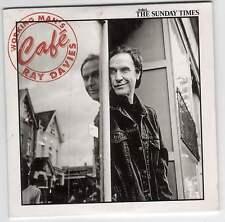 RAY DAVIES: WORKING MAN'S CAFÉ - UK PROMO CD ALBUM (2007) KINKS