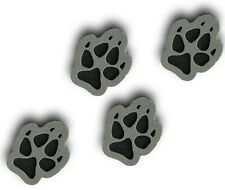 ToeJamR Snowboard Stomp Pad - 4 PACK OF PUPPY PAWS - GRAY