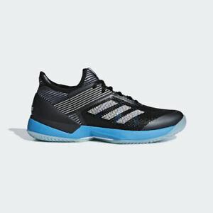 adidas Adizero Ubersonic 3 W Clay Sizes 6, 8 Black RRP £110 Brand New CG6483