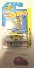 HOT WHEELS 1:64 SKATE PUNK YELLOW HW OFF-ROAD SERIES 123/250 NEW IN PACKAGE RARE