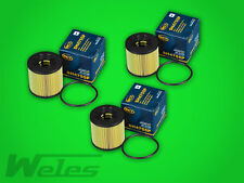 3 x Ölfilter SH4755 RENAULT LAGUNA 2 VEL SATIS ESPACE 3 4 MASTER II 2,2 2,5 dCI