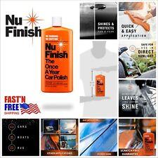 Nu Finish Liquid Car Polish Advanced Top White Coat Sealant w/ Simple 16oz