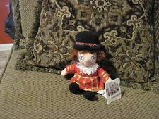"Nwt 9"" Disney Store England British Boy Small World plush (44)"