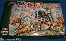 DARK ALLIANCE #72019. WARGS. 1/72 SCALE UNPAINTED PLASTIC x 30