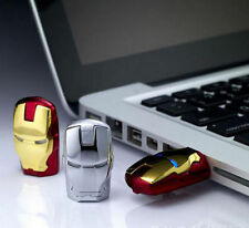NUOVO 8gb IRON MAN unità flash USB 2.0/Memory Stick con gli occhi a LED-UK STOCK